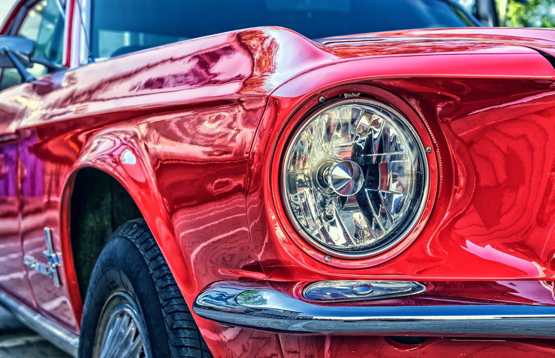 Classic Red Mustang in Islip Long Island - VeteranCarDonations.org