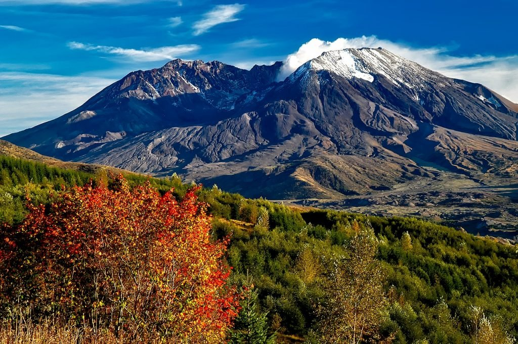 Mount St. Helens is one of Washington's top tourist attractions.