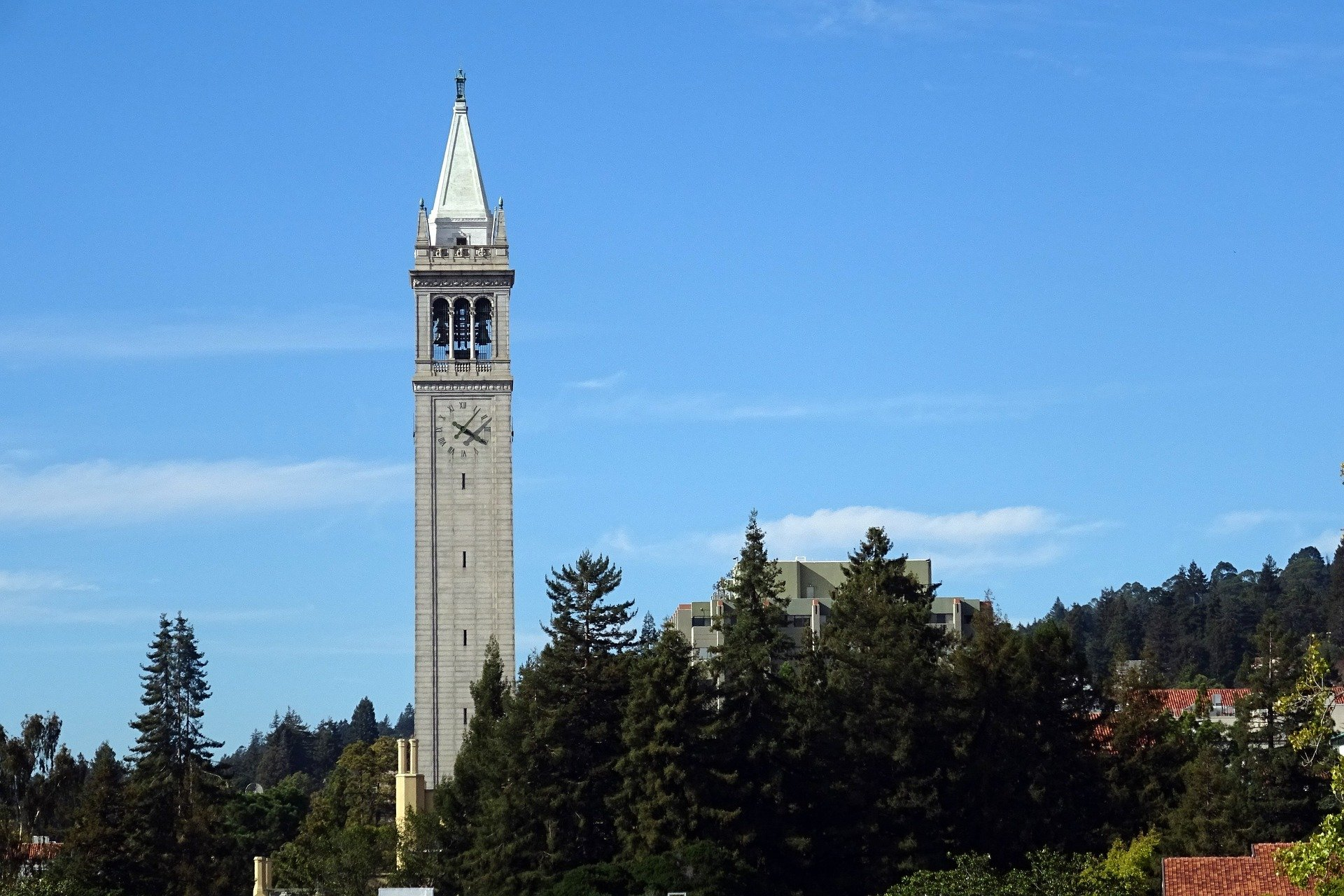 Sather Tower in Berkeley California - VeteranCarDonations.org