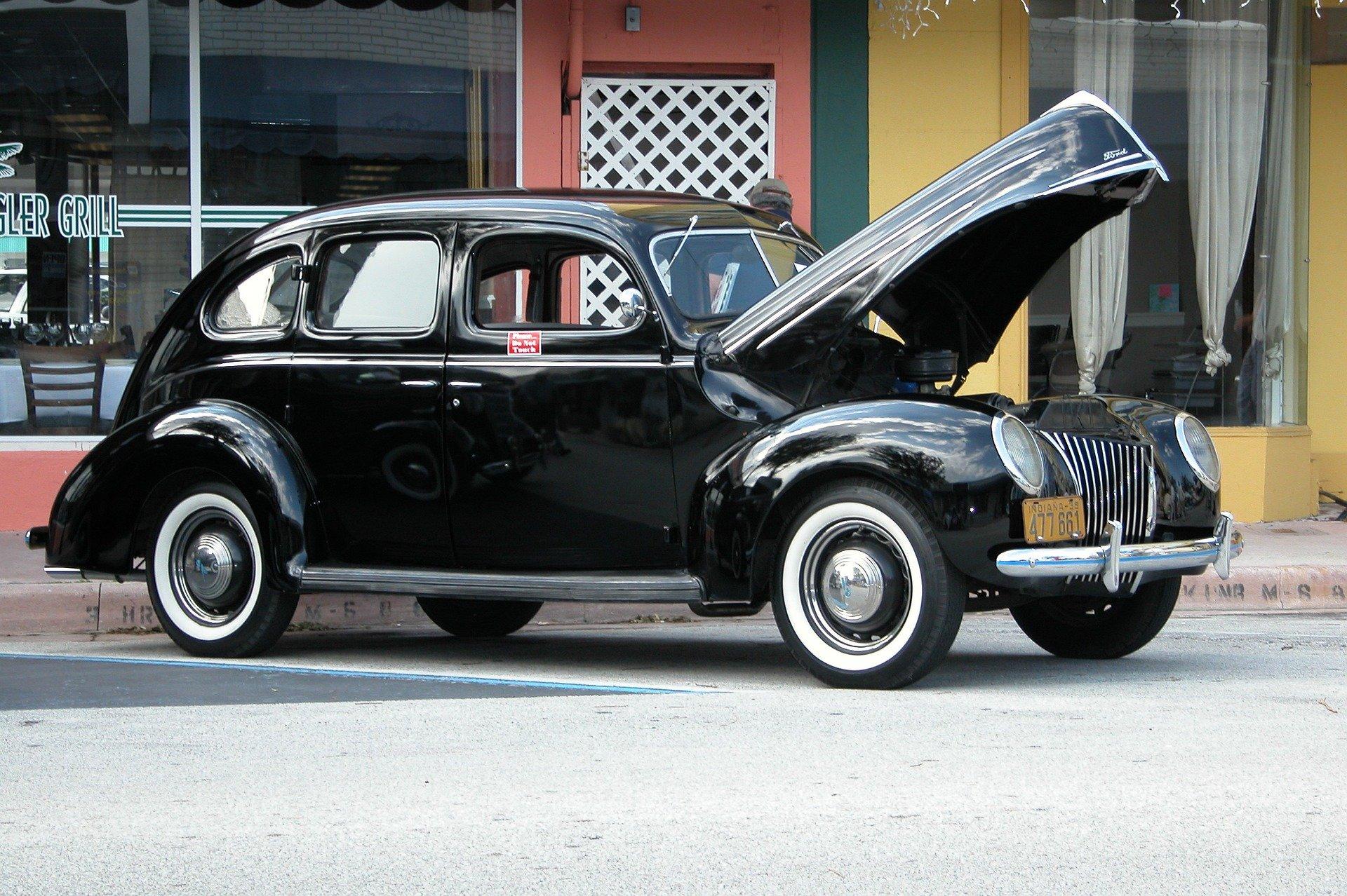 Oldtimer Car in Quincy - VeteranCarDonations.org
