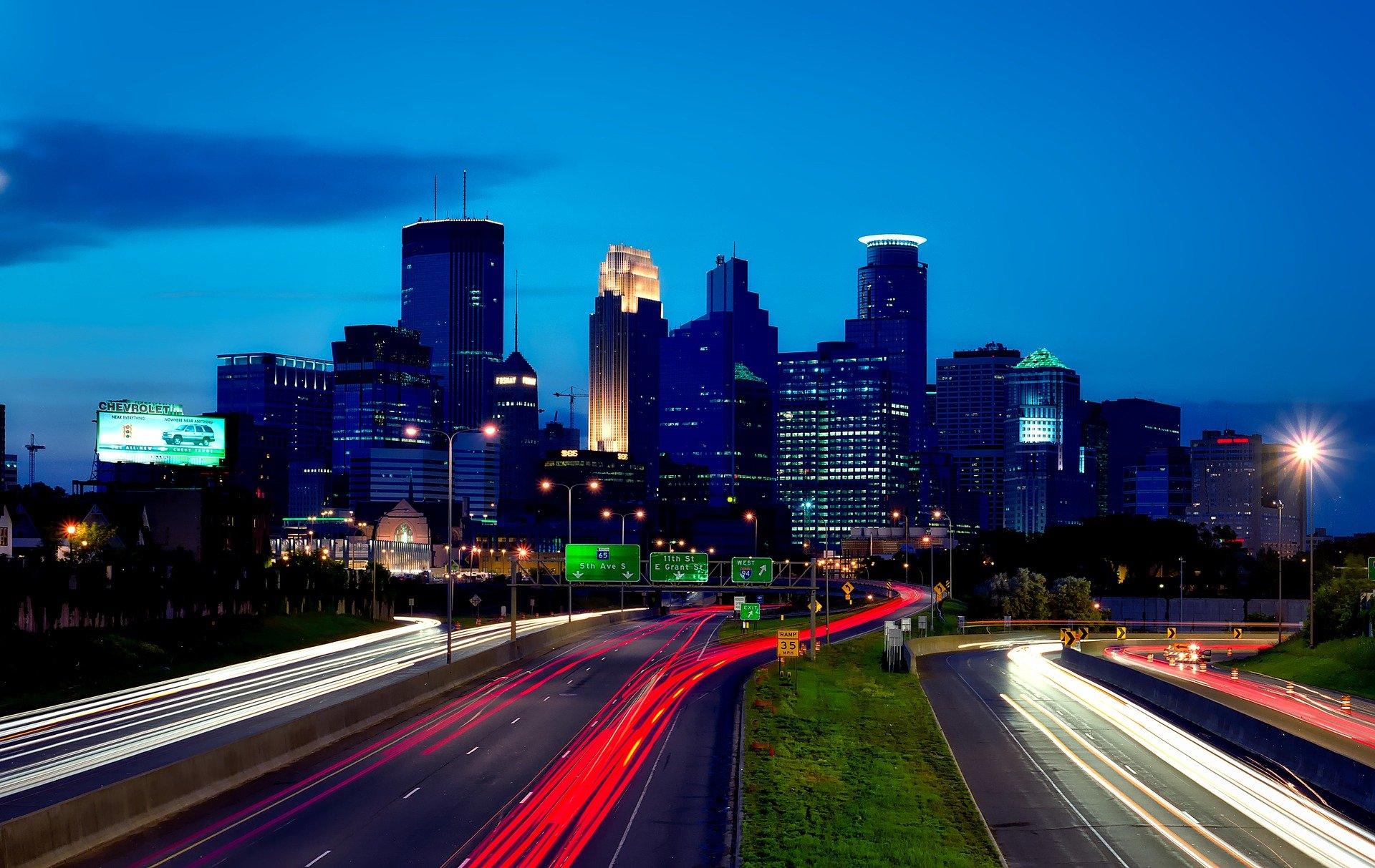 Downtown Minneapolis Minnesota - VeteranCarDonations.org