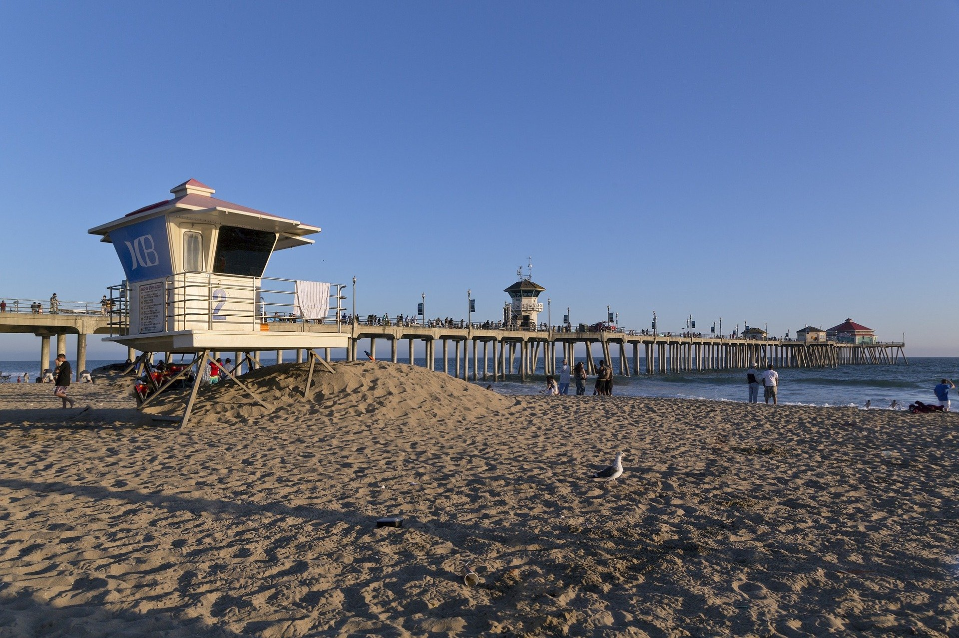 Huntington Beach Boardwalk