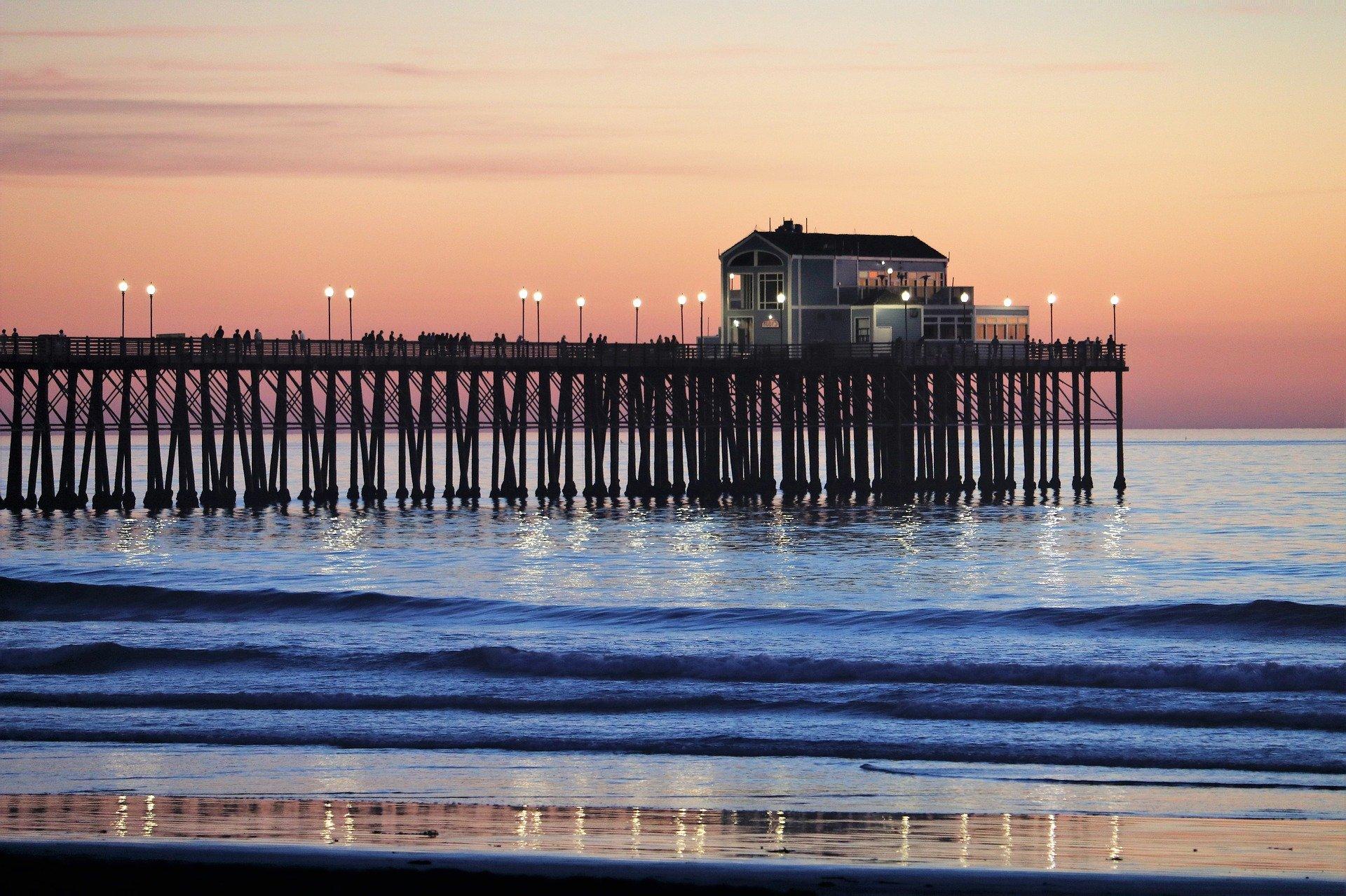 Oceanside Pier, California - VeteranCarDonations,org