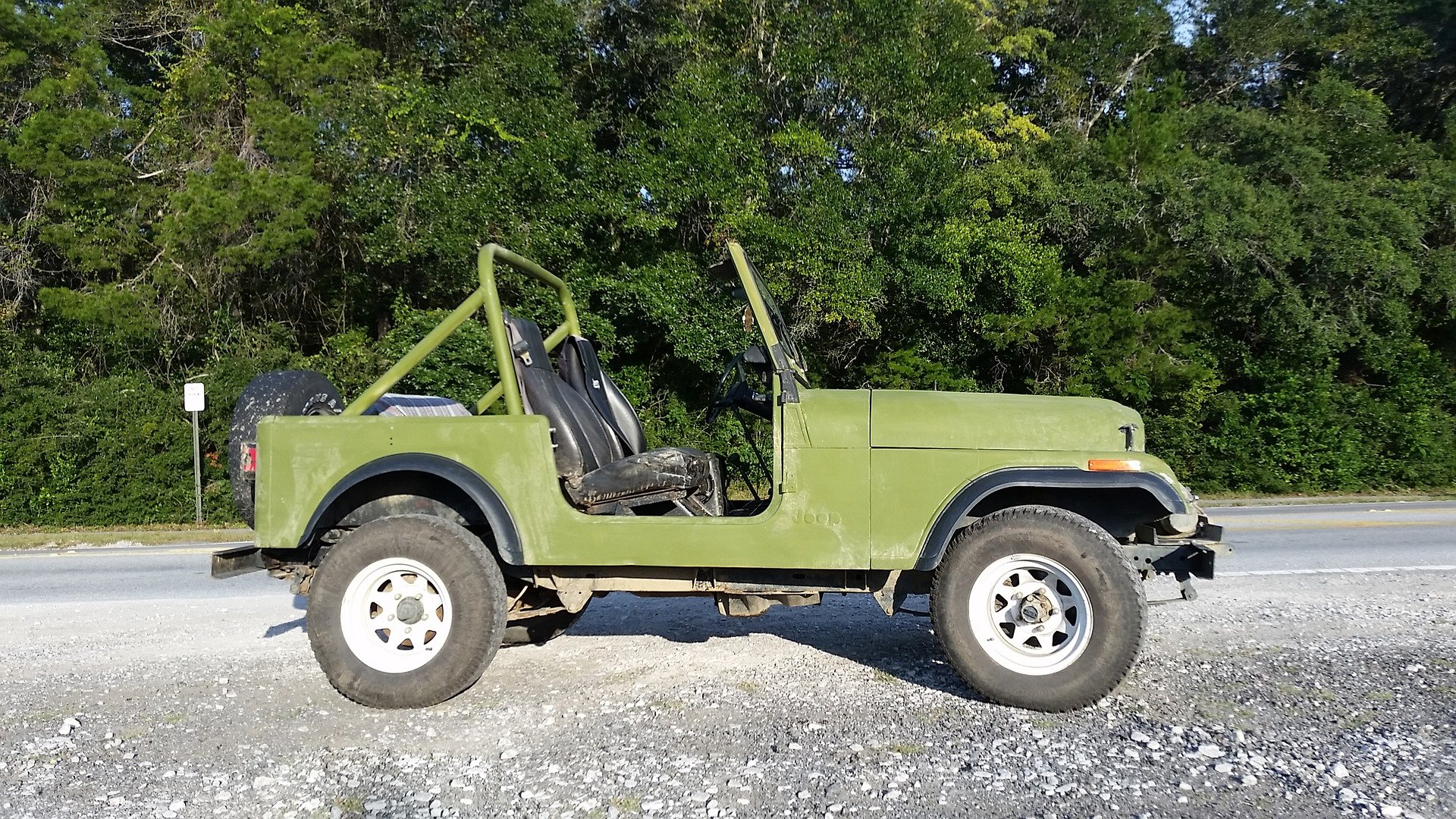 Vintage Jeep in Rancho Cucamonga California - VeteranCarDonations.org