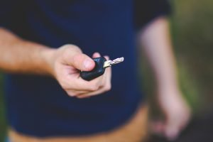 Handing Car Key | Veteran Car Donations