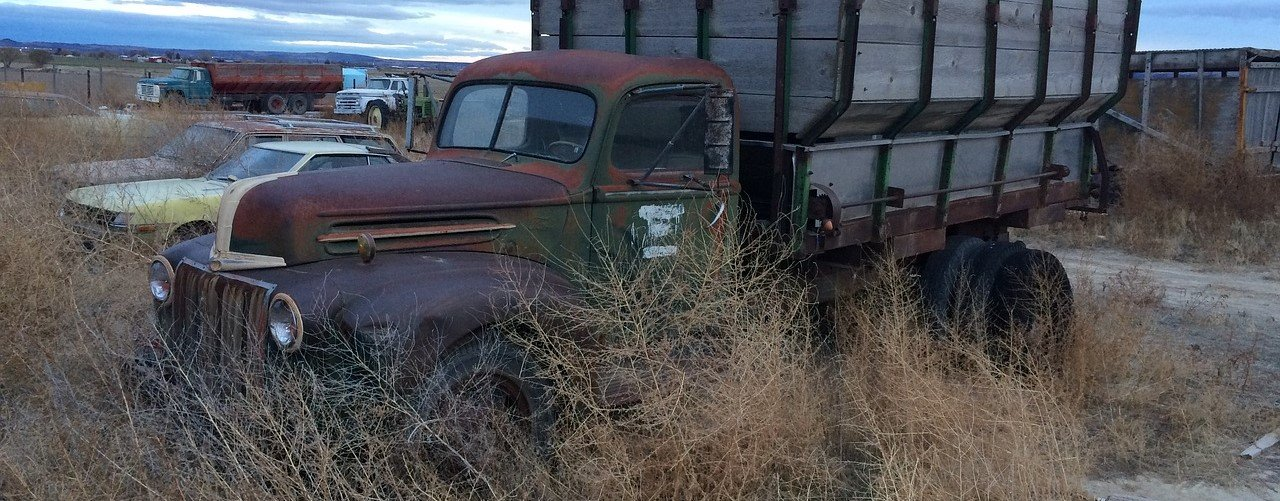 Old Truck in Idaho - VeteranCarDonations.org