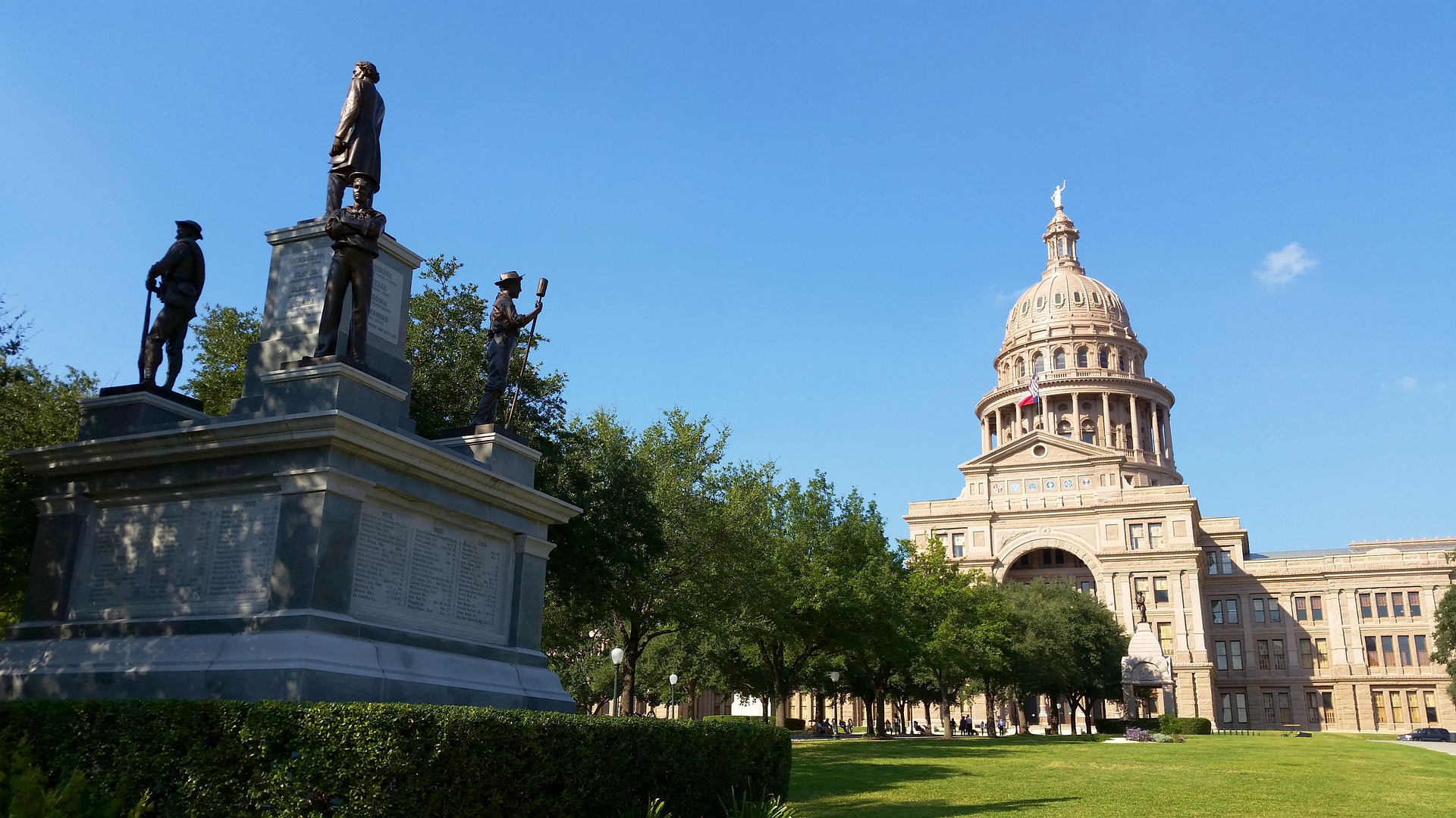 Texas Capitol Building in Austin, Texas - VeteranCarDonations.org