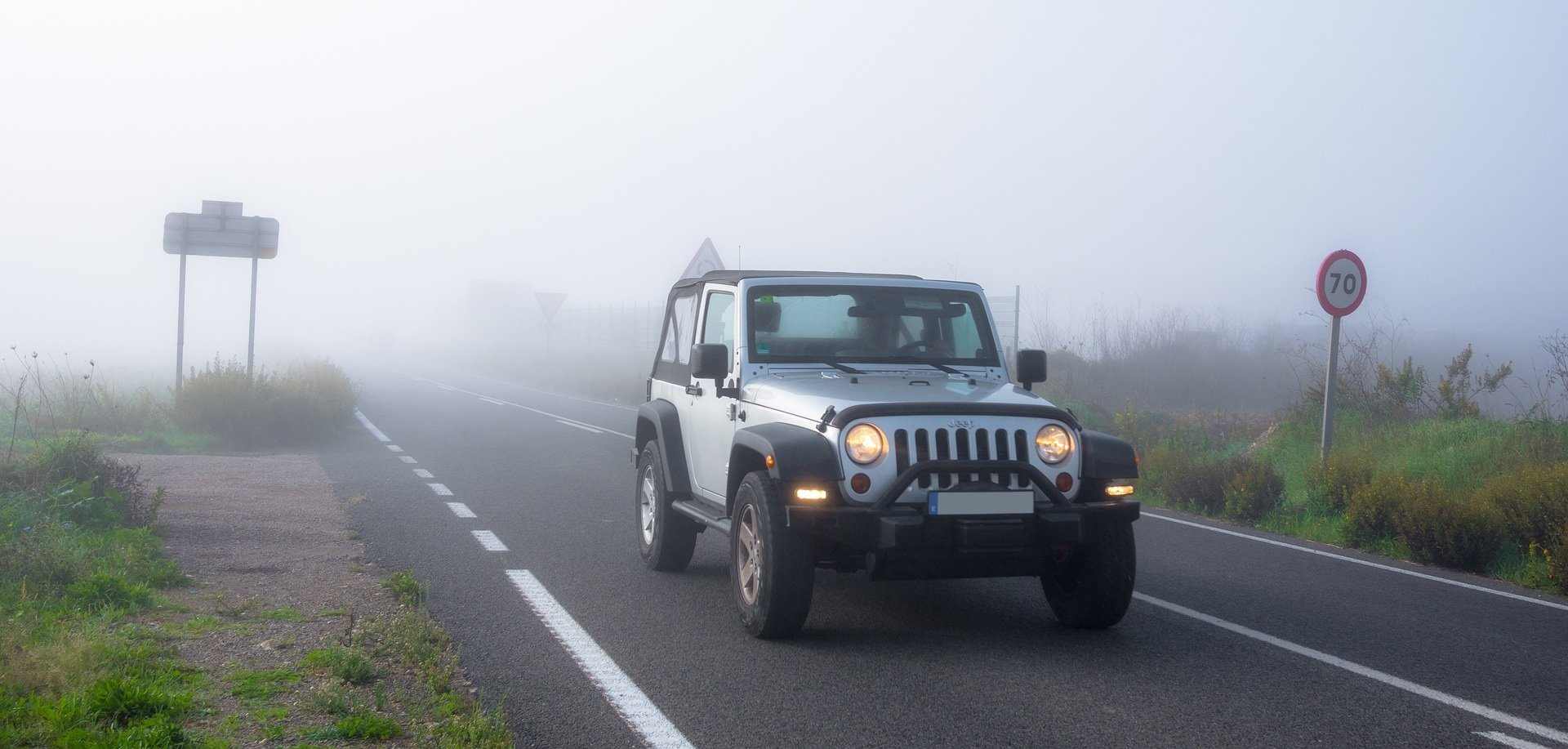 Foggy Road in Greenwood | Veteran Car Donations