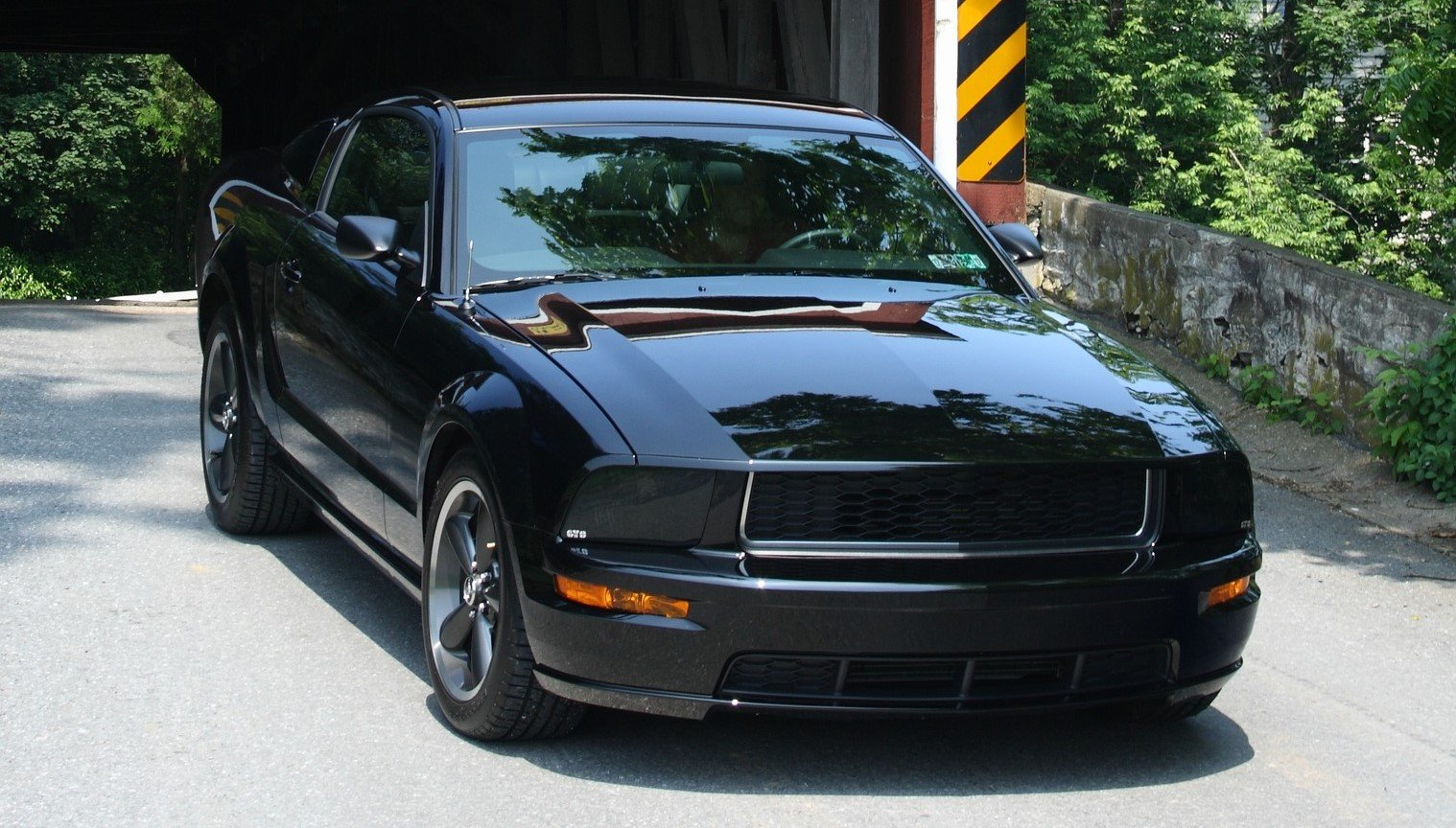 Classy Black Ford Mustang in Orlando