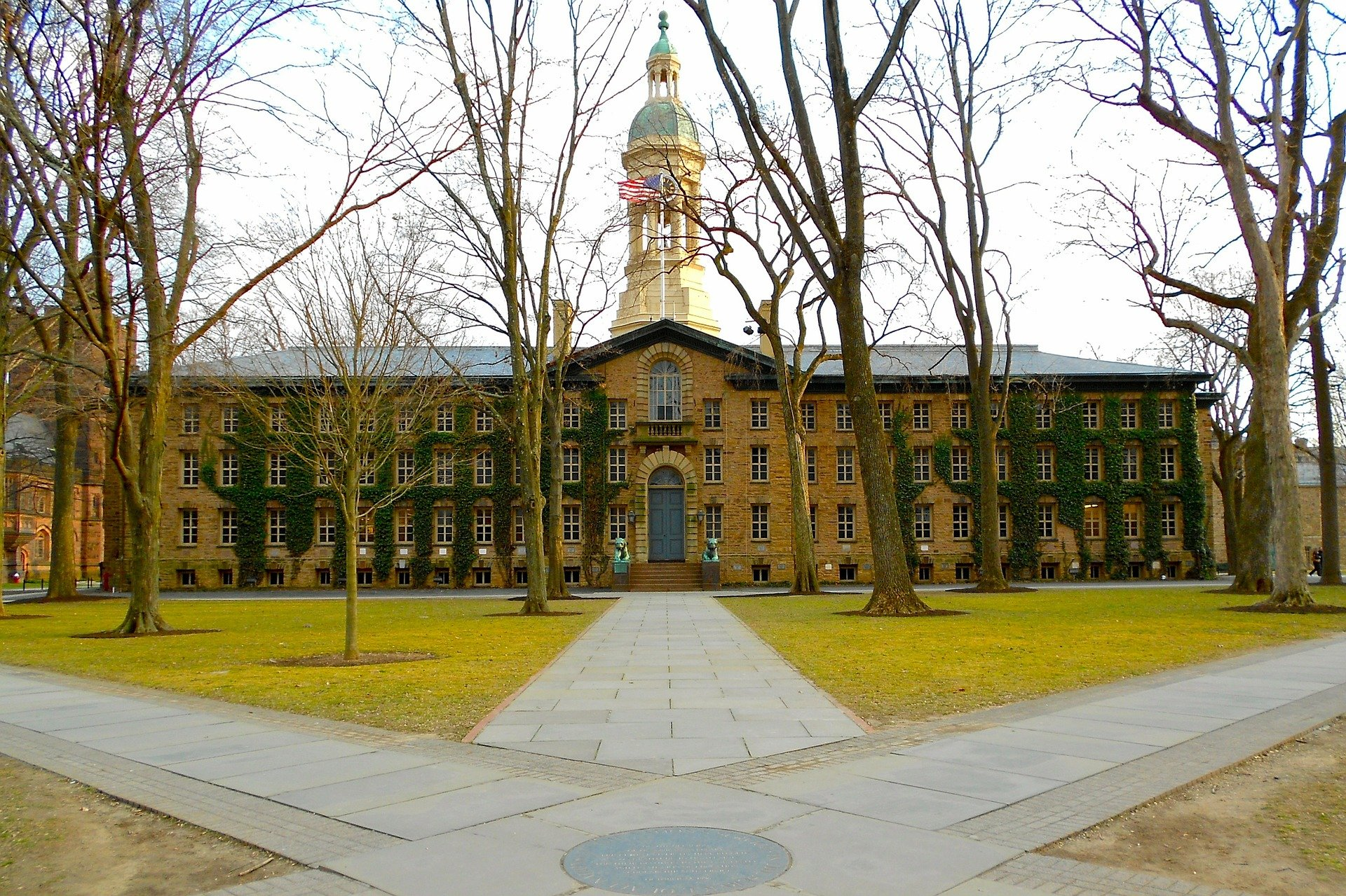 The Nassau Hall in Princeton