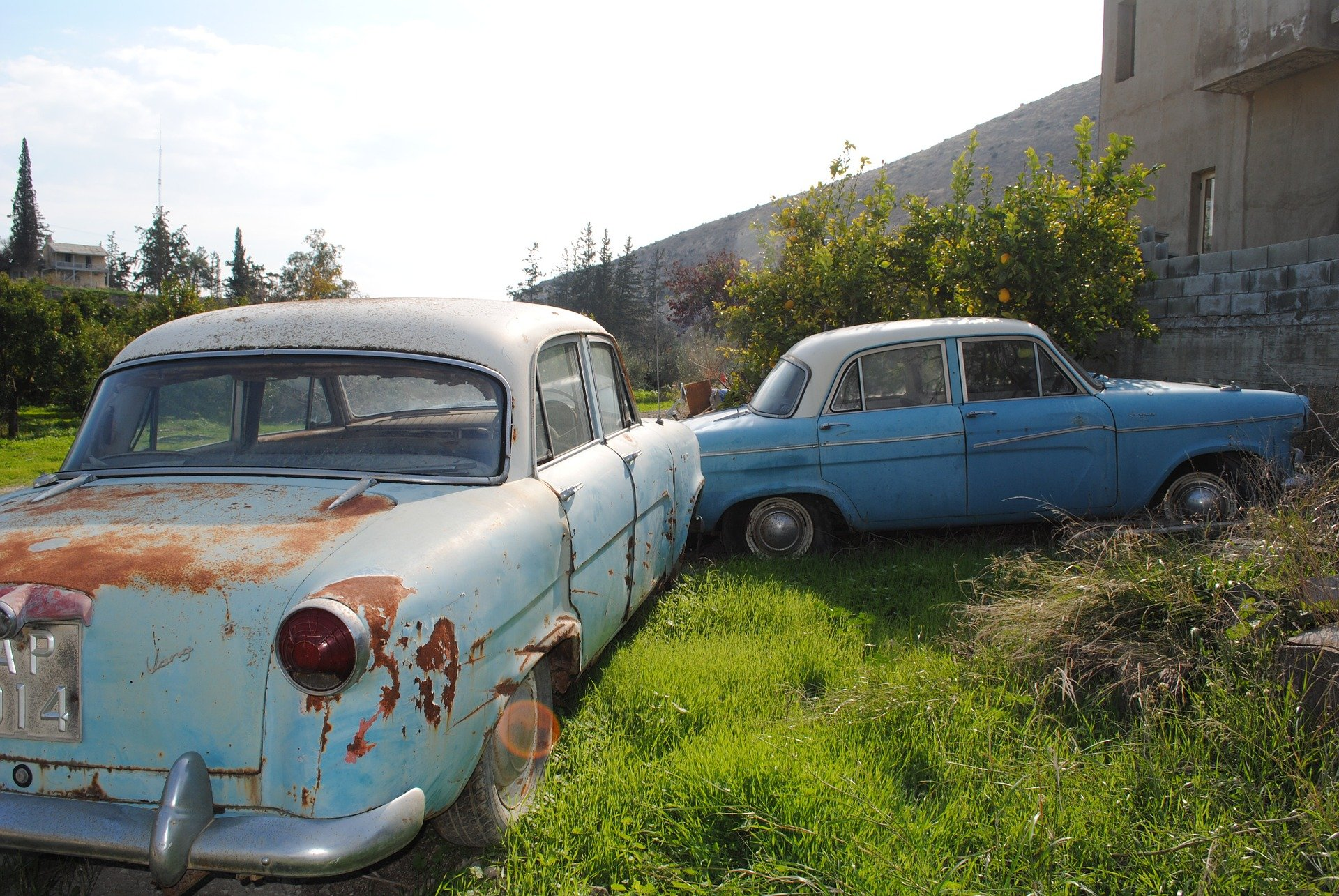 Old Cars in Kyle
