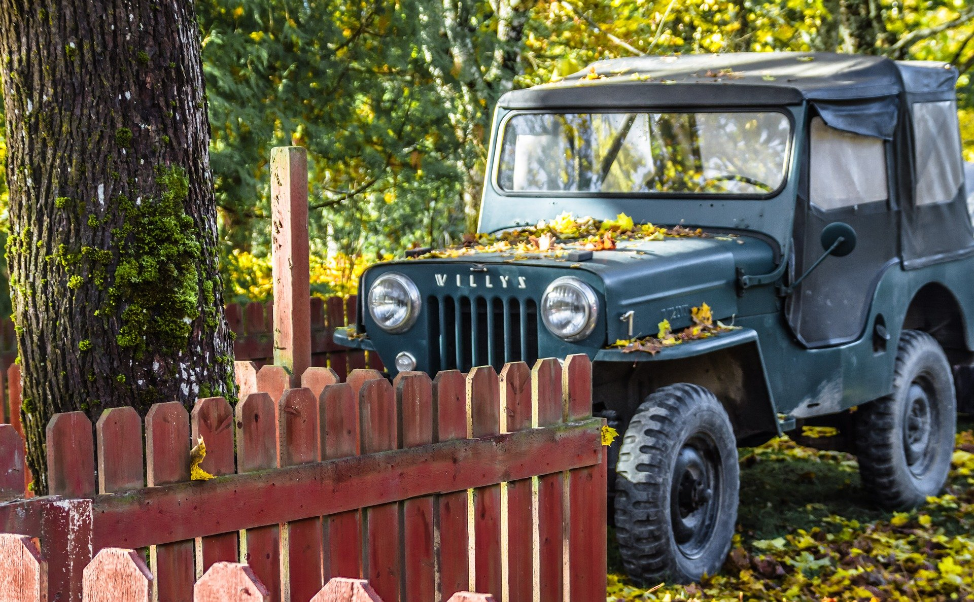 Oldtimer Jeep in North Hempstead