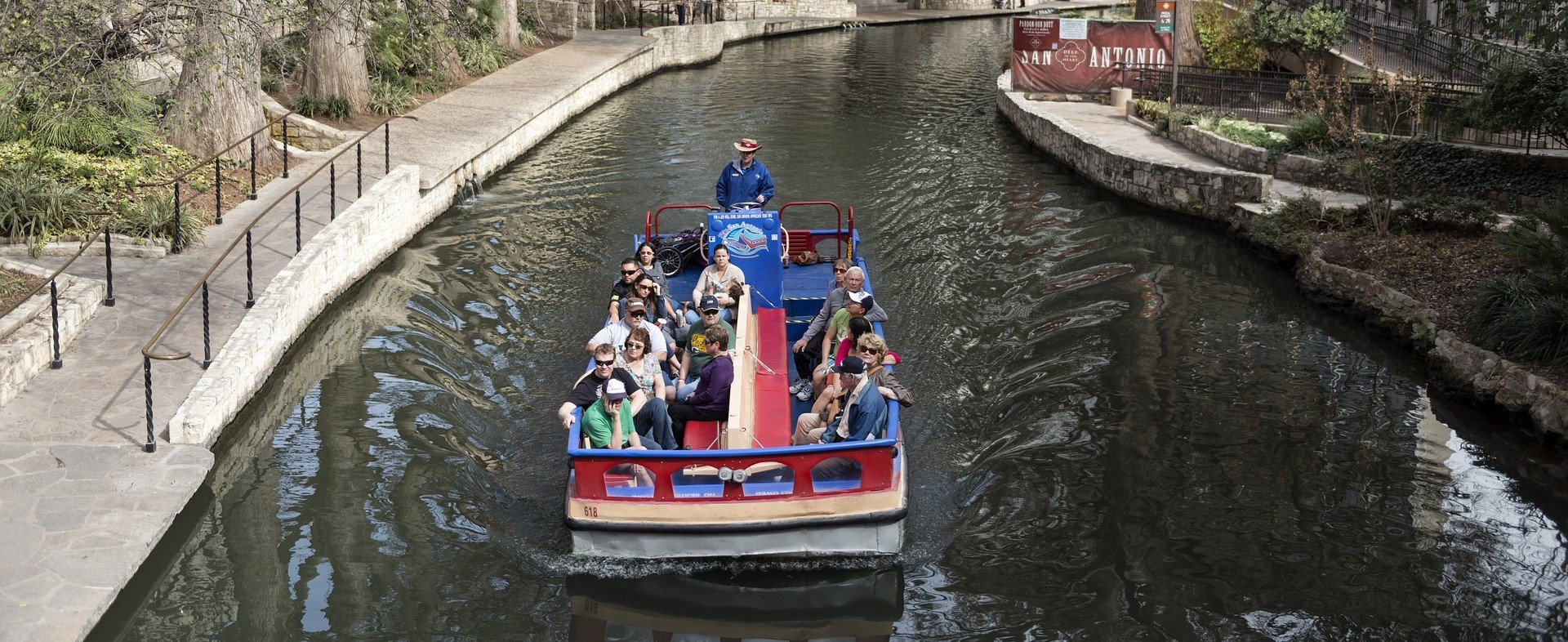 Boat Ride in San Antonio