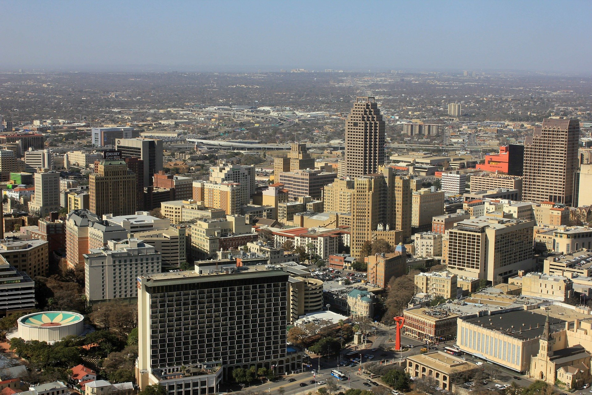 Downtown Skyline in San Antonio