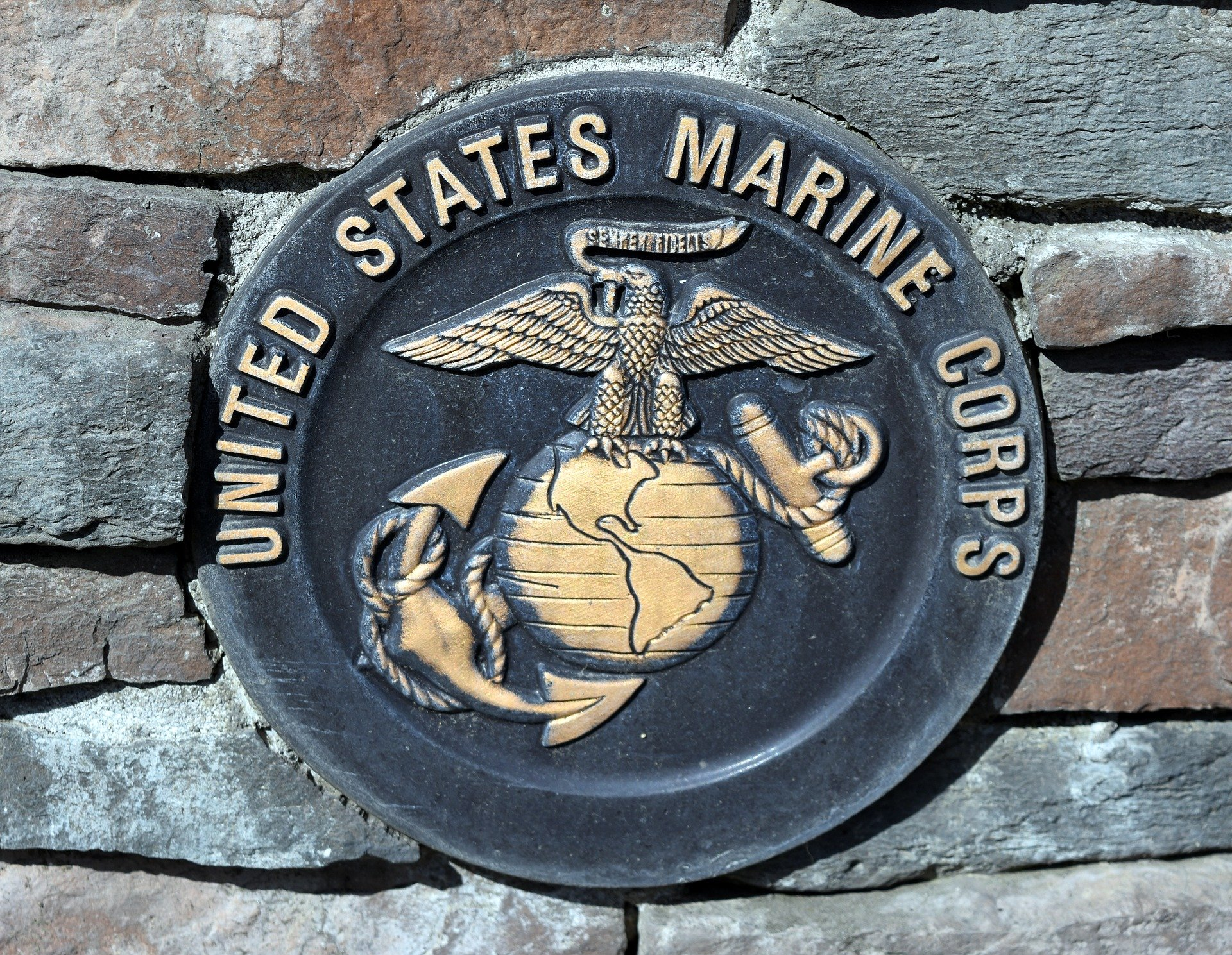 United States Marine Corps Commemorative Plaque | Veteran Car Donations