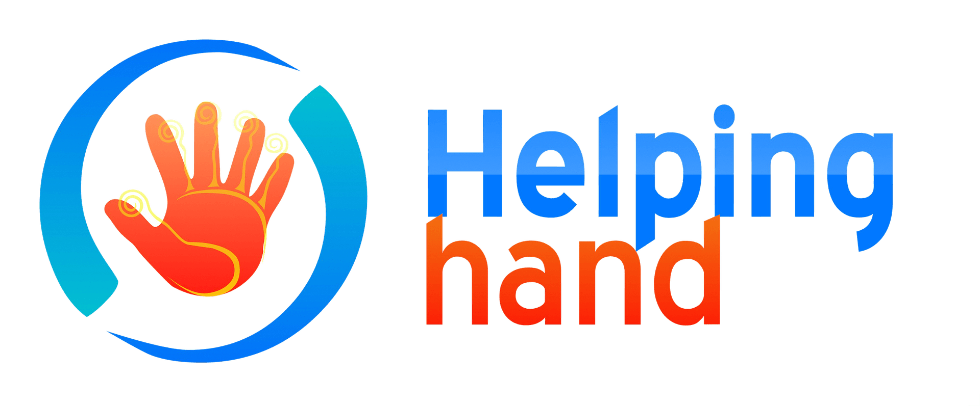 Helping Hand Graphic Art - VeteranCarDonations.org