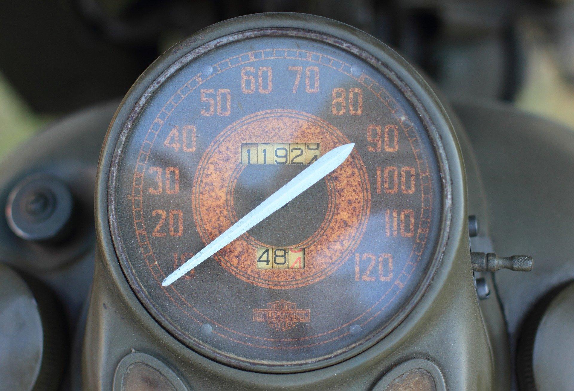 Odometer Css Example