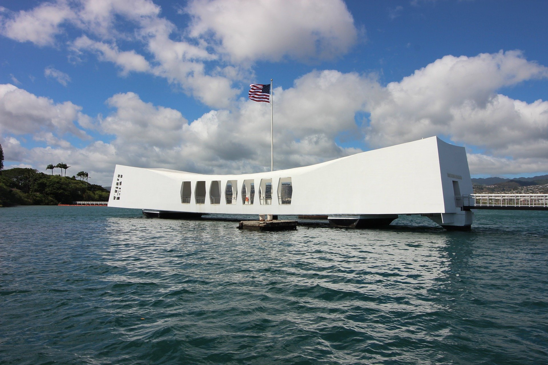 The USS Arizona Memorial at Pearl Harbor | Veteran Car Donations