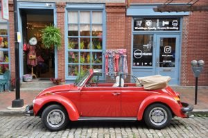 Red Convertible Oldtimer Beetle | Veteran Car Donations