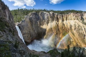 Waterfalls in Yellowstone National Park | Veteran Car Donations