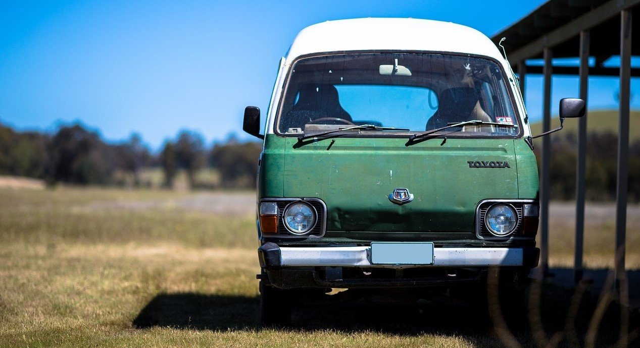 Oldtimer Van Outdoors in Spokane, Washington | Veteran Car Donations