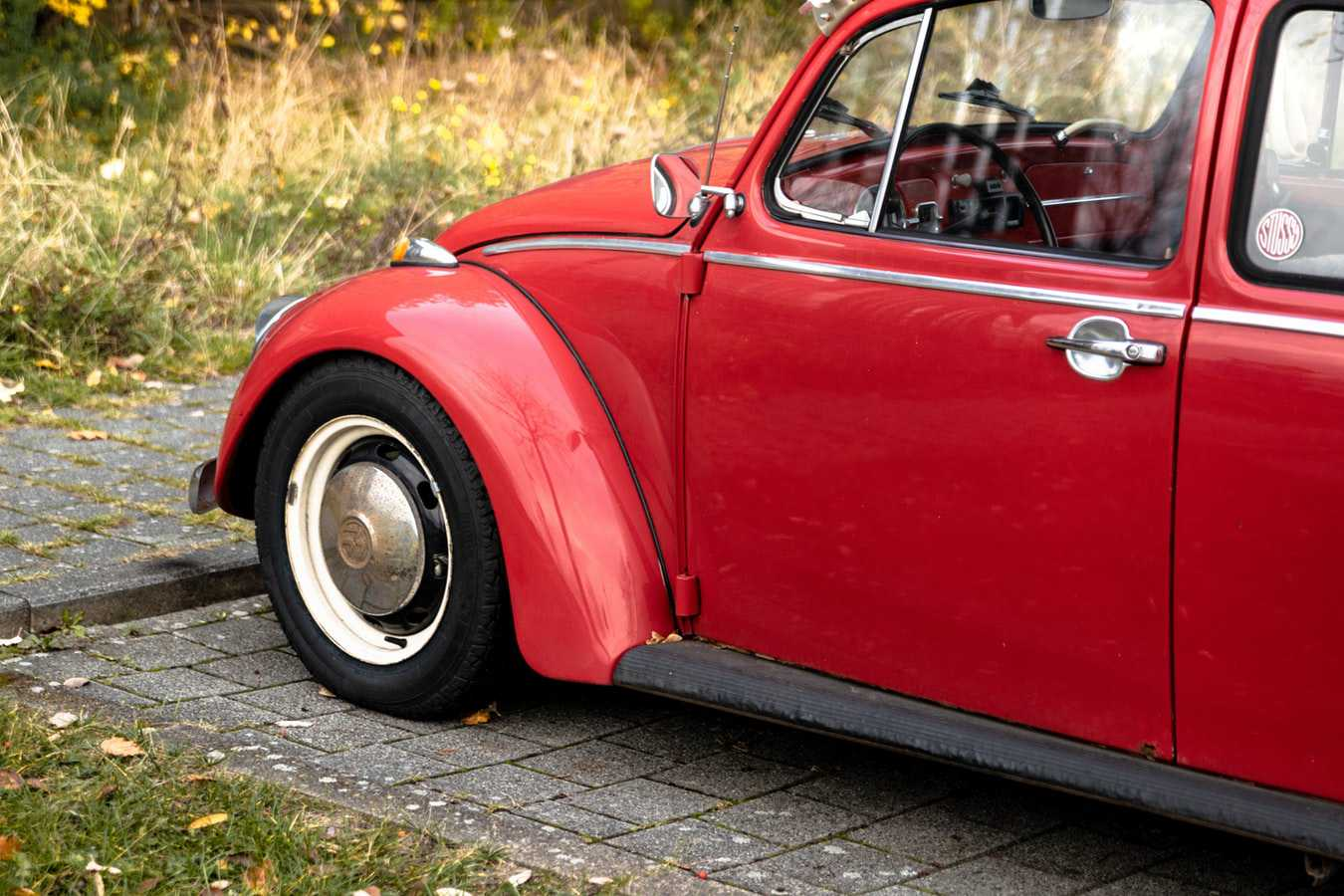 Red Oldtimer Beetle in Bridgeport, Connecticut | Veteran Car Donations